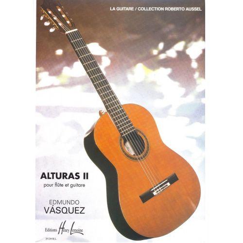 LEMOINE VASQUEZ EDMUNDO - ALTURAS II - FLUTE, GUITARE