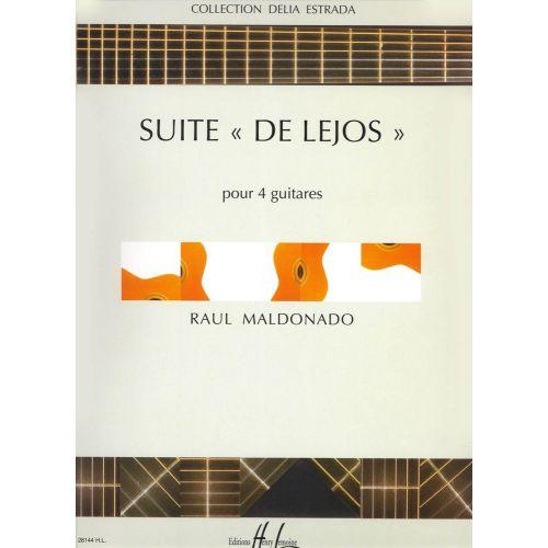LEMOINE MALDONADO RAUL - SUITE DE LEJOS - 4 GUITARES