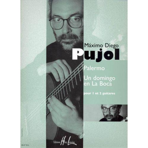 LEMOINE PUJOL MAXIMO-DIEGO - PALERMO - UN DOMINGO EN LA BOCA - 1 OU 2 GUITARES