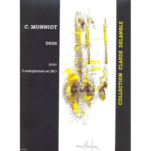 LEMOINE MONNIOT CHRISTOPHE - DUOS - 2 SAXOPHONES MIB