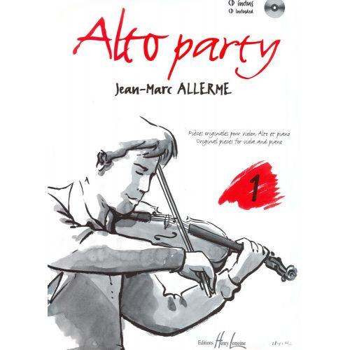 LEMOINE ALLERME JEAN-MARC - ALTO PARTY VOL.1 + CD
