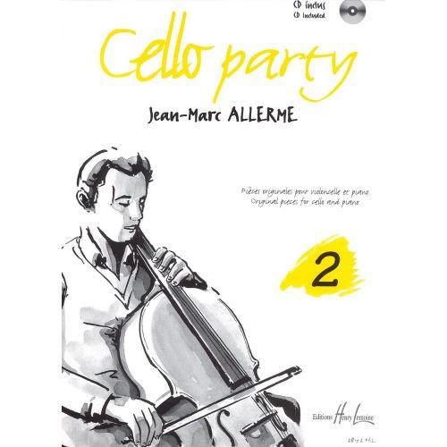 LEMOINE ALLERME JEAN-MARC - CELLO PARTY VOL.2 + CD - VIOLONCELLE, PIANO