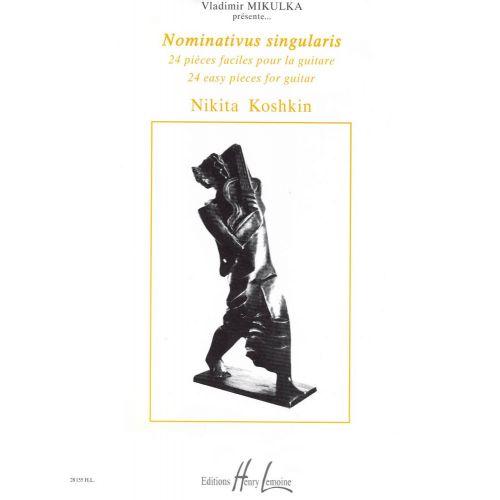 LEMOINE KOSHKIN NIKITA - NOMINATIVUS SINGULARIS - GUITARE