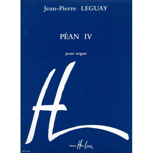 LEMOINE LEGUAY JEAN-PIERRE - PEAN IV - ORGUE