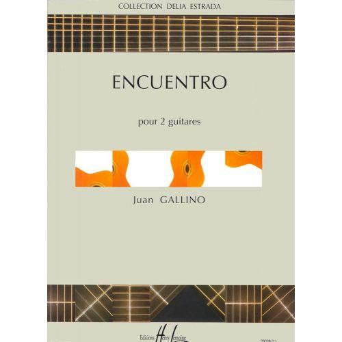 LEMOINE GALLINO JUAN - ENCUENTRO - 2 GUITARES