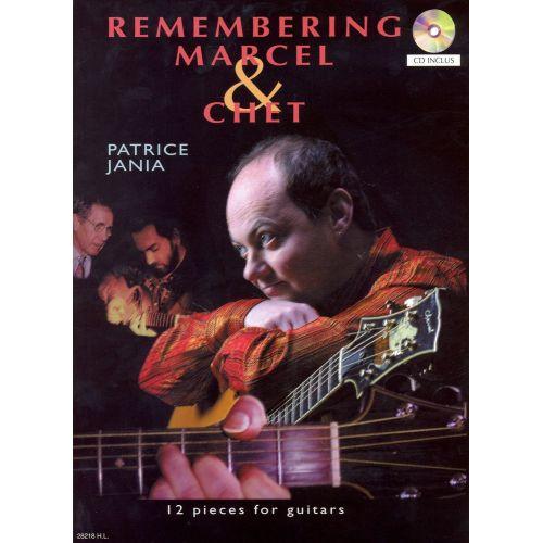 LEMOINE JANIA PATRICE - REMEMBERING MARCEL AND CHET + CD - GUITARE