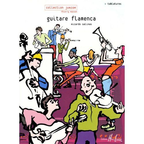 LEMOINE SALINAS RICARDO - GUITARE FLAMENCA - GUITARE