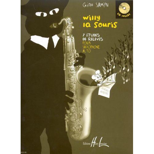LEMOINE SAMYN GINO - WILLY LA SOURIS + CD