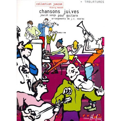 LEMOINE HOARAU J.C. - CHANSONS JUIVES - GUITARE AVEC TABLATURES
