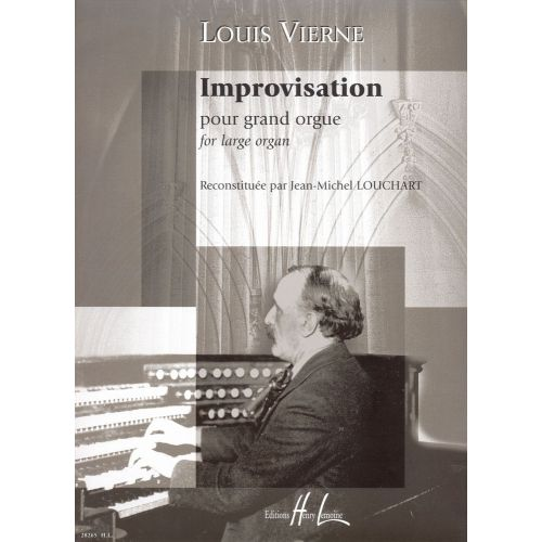 LEMOINE VIERNE LOUIS - IMPROVISATION POUR GRAND ORGUE