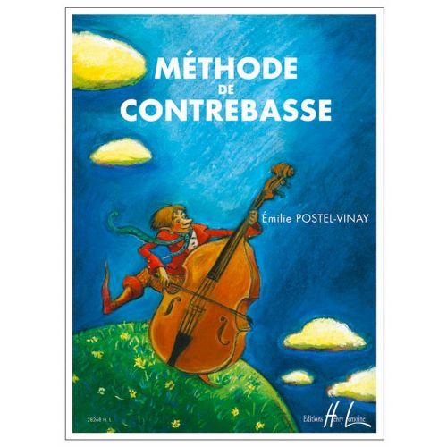 LEMOINE POSTEL-VINAY EMILIE - MÉTHODE DE CONTREBASSE