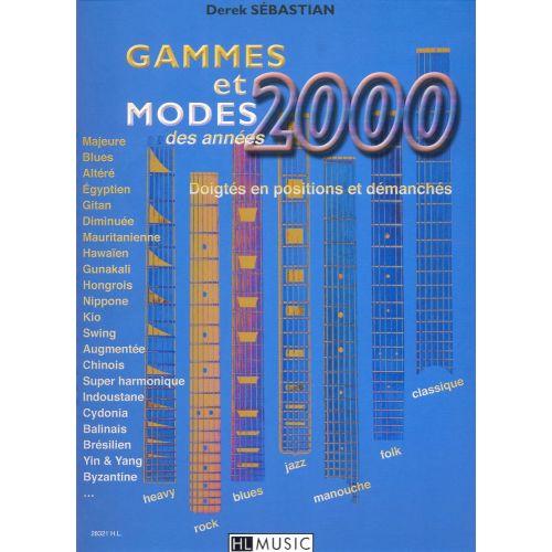 LEMOINE SEBASTIAN DEREK - GAMMES ET MODES DES ANNEES 2000 - GUITARE
