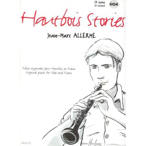 LEMOINE ALLERME JEAN-MARC - HAUTBOIS STORIES + CD - HAUTBOIS, PIANO