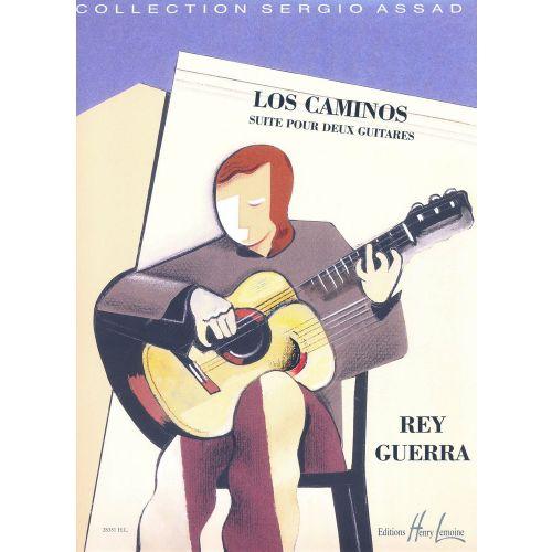 LEMOINE GUERRA REY - LOS CAMINOS - 2 GUITARES