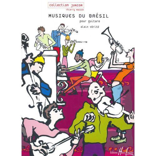LEMOINE VERITE ALAIN - MUSIQUES DU BRÉSIL - GUITARE TAB