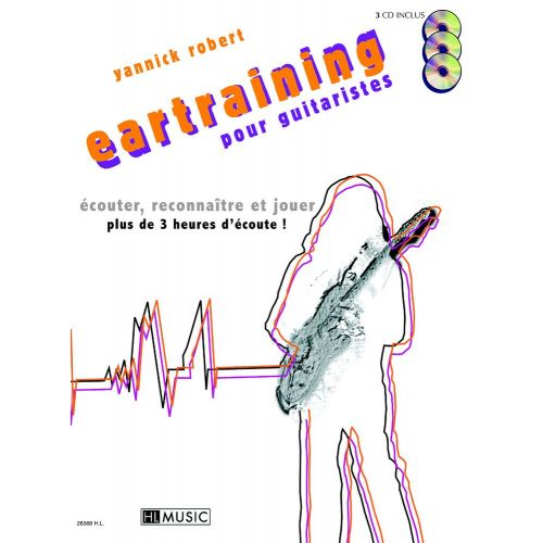 LEMOINE ROBERT YANNICK - EARTRAINING + CD - GUITARE