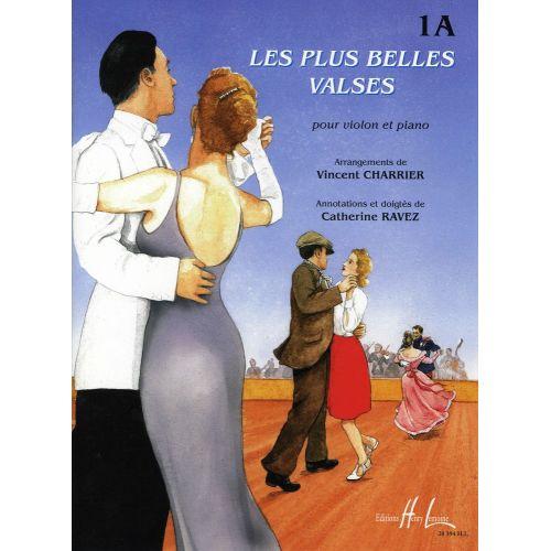 LEMOINE CHARRIER V./ RAVEZ C. - LES PLUS BELLES VALSES VOL.1A - VIOLON, PIANO
