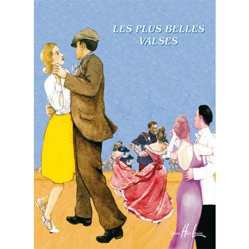 LEMOINE CHARRIER V. / RAVEZ P. - LES PLUS BELLES VALSES VOL.2A - FLUTE, PIANO