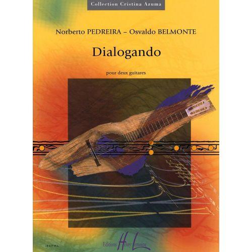 LEMOINE PEDREIRA N. / BELMONTE O. - DIALOGANDO - 2 GUITARES