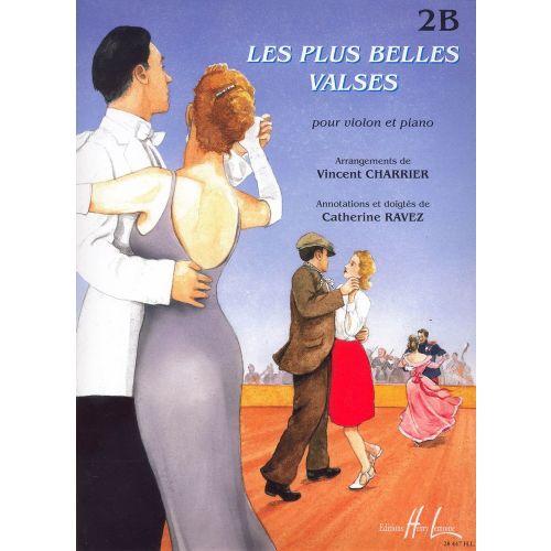 LEMOINE CHARRIER V. / RAVEZ C. - LES PLUS BELLES VALSES VOL.2B - VIOLON, PIANO