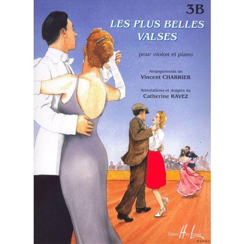 LEMOINE CHARRIER V./ RAVEZ C. - LES PLUS BELLES VALSES VOL.3B - VIOLON, PIANO