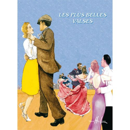 LEMOINE CHARRIER V. / RAVEZ P. - LES PLUS BELLES VALSES VOL.1B - FLUTE, PIANO