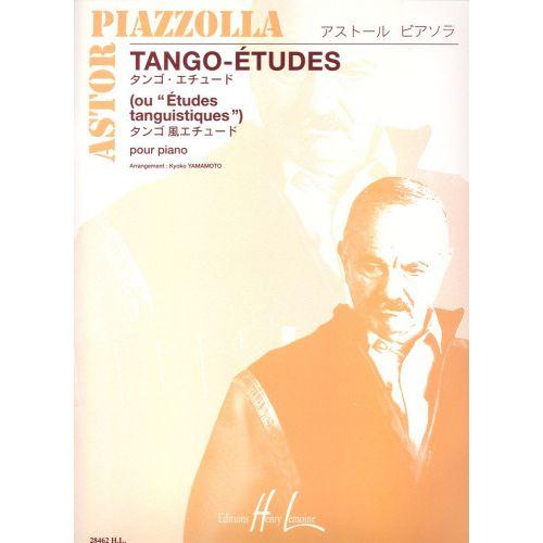 LEMOINE PIAZZOLLA ASTOR - TANGO - ETUDES (6) - PIANO