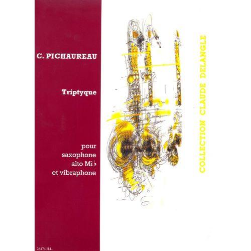 LEMOINE PICHAUREAU CLAUDE - TRIPTYQUE - SAXOPHONE MIB AND VIBRAPHONE