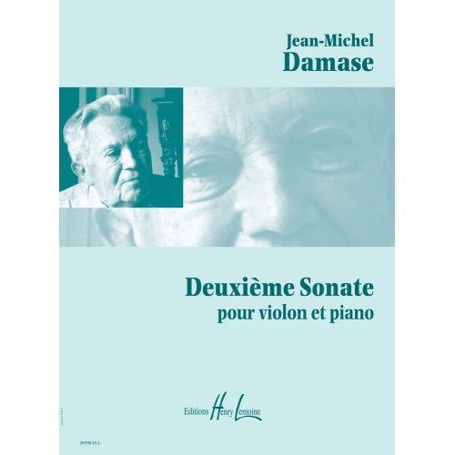 LEMOINE DAMASE JEAN-MICHEL - SONATE POUR VIOLON ET PIANO N°2
