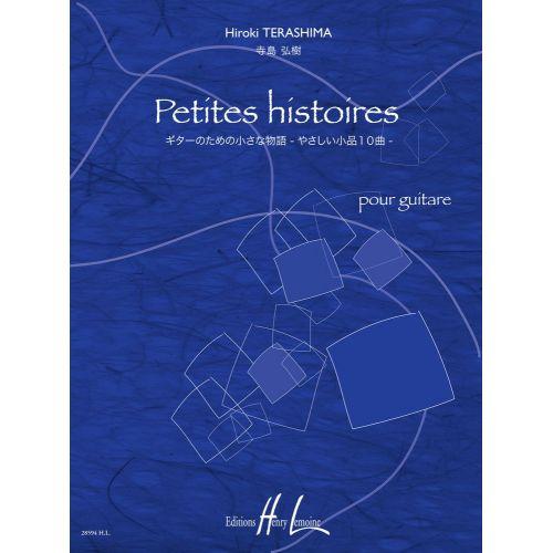 LEMOINE TERASHIMA HIROKI - PETITES HISTOIRES - GUITARE