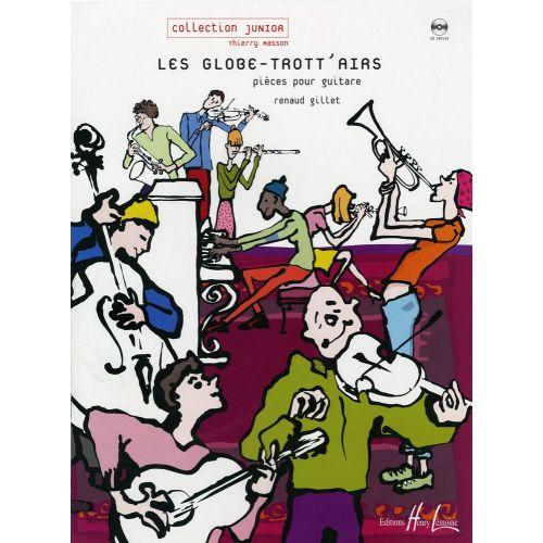 LEMOINE GILLET RENAUD - LES GLOBE-TROTT'AIRS + CD - GUITARE