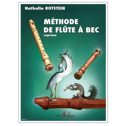 LEMOINE ROTSTEIN NATHALIE - METHODE DE FLUTE A BEC