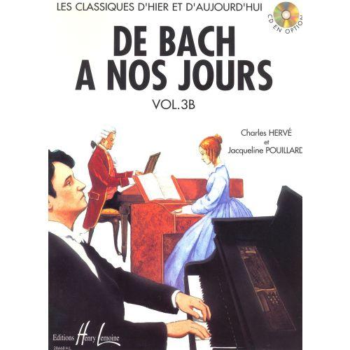 LEMOINE HERVE C. / POUILLARD J. - DE BACH À NOS JOURS VOL.3B - PIANO