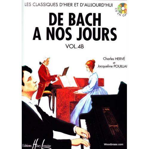LEMOINE HERVE Ch., POUILLARD J. - DE BACH A NOS JOURS VOL. 4B - PIANO