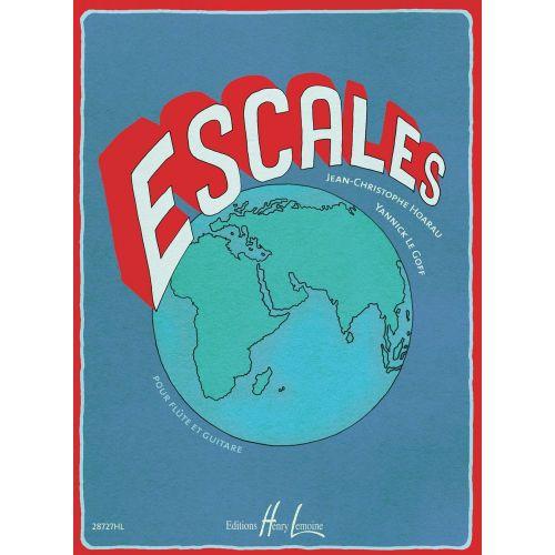 LEMOINE HOARAU J.C / LE GOFF Y. - ESCALES - FLUTE ET GUITARE