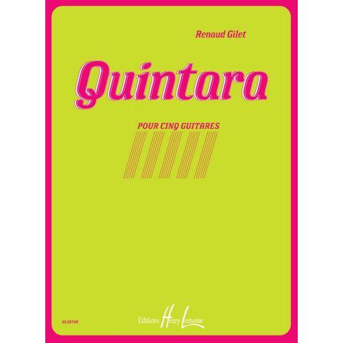 LEMOINE GILLET RENAUD - QUINTARA - 5 GUITARES