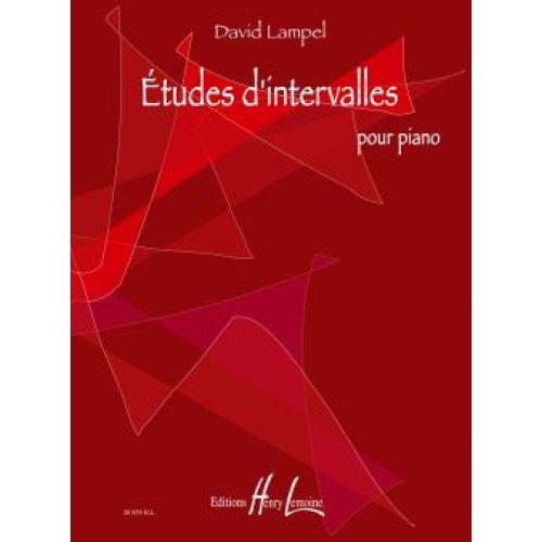 LEMOINE LAMPEL DAVID - ETUDES D'INTERVALLES - PIANO