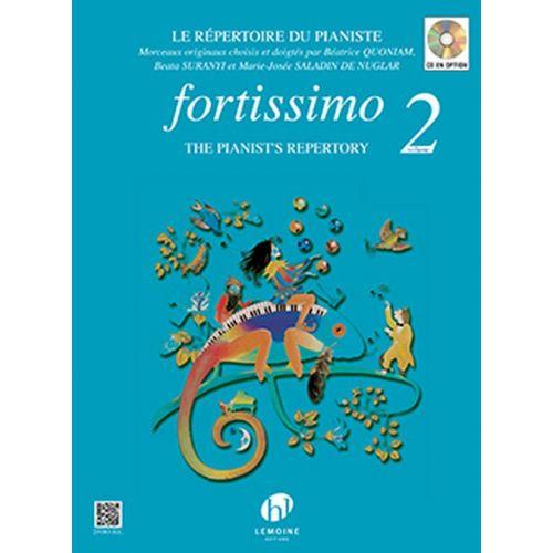 LEMOINE QUONIAM BÉATRICE - FORTISSIMO VOL.2 - PIANO