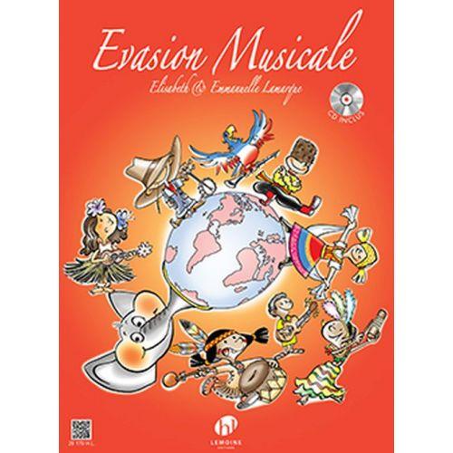 LEMOINE LAMARQUE ELISABETH & EMMANUELLE - EVASION MUSICALE + CD