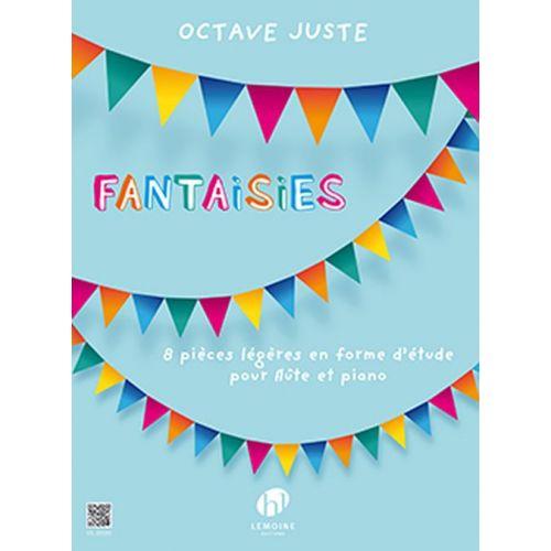 LEMOINE OCTAVE JUSTE - FANTAISIES - FLUTE & PIANO