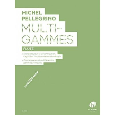 LEMOINE PELLEGRINO MICHEL - MULTI GAMMES - FLUTE