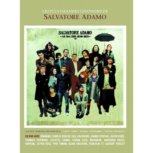 BOOKMAKERS INTERNATIONAL ADAMO SALVATORE - LE BAL DES GENS BIEN - PVG TAB