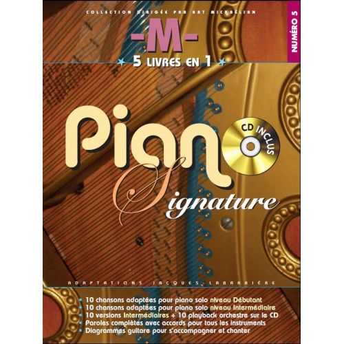 BOOKMAKERS INTERNATIONAL M - PIANO SIGNATURE + CD - PVG