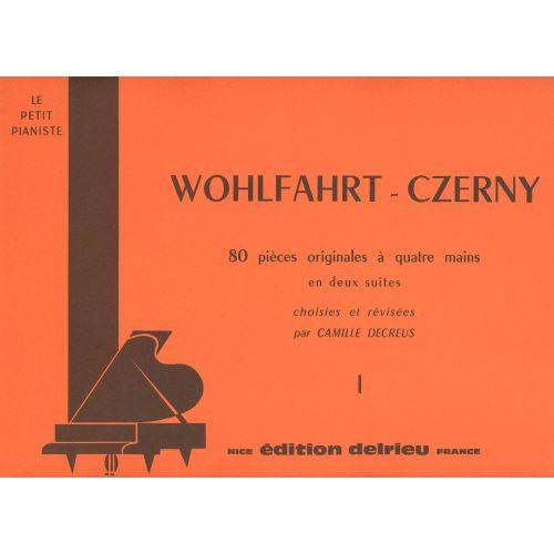 EDITION DELRIEU WOHLFAHRT H./ CZERNY C. - SUITE N°1 - PIANO 4 MAINS