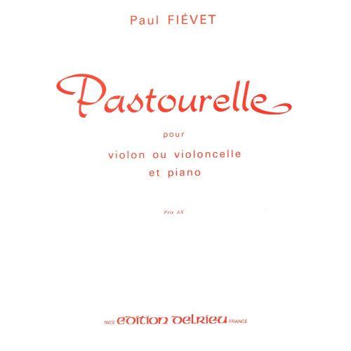 EDITION DELRIEU FIEVET PAUL - PASTOURELLE - VIOLON