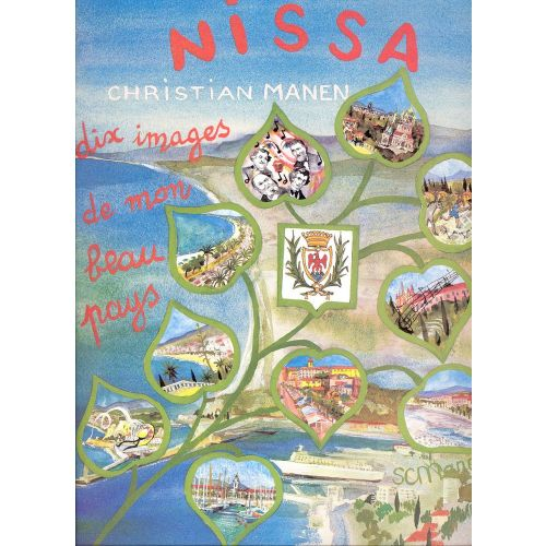 EDITION DELRIEU MANEN CHRISTIAN - NISSA : 10 IMAGES DE MON BEAU PAYS OP.127 - PIANO