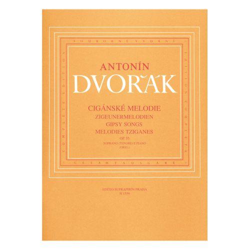 BARENREITER DVORAK A. - GIPSY SONGS OP.55 - SOPRANO (TENOR) ET PIANO