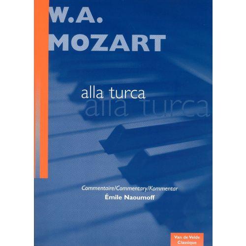 VAN DE VELDE MOZART W.A. - ALLA TURCA KV331 - PIANO