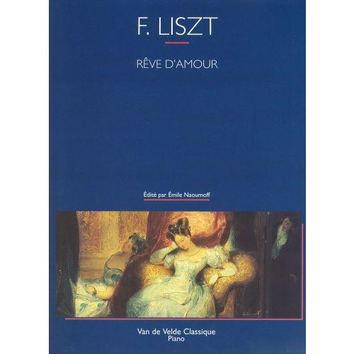 VAN DE VELDE LISZT F. - REVE D'AMOUR - PIANO