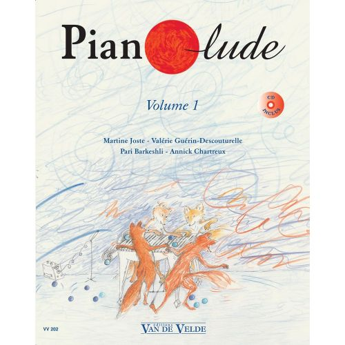 VAN DE VELDE PIANOLUDE VOL.1 + CD